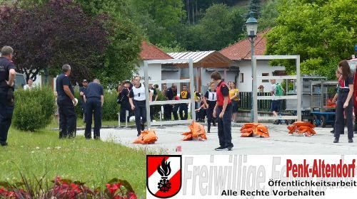 3. Platz beim Bezirksleistunsgsbewerb in Silber Freiwillige Feuerwehr Penk Altendorf