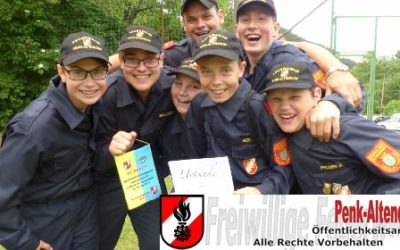 Abschnittsfeuerwehrjugendbeweb des Abschnitts Gloggnitz