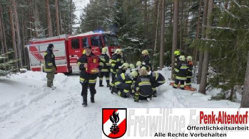 Person in Notlage Kranichberg1