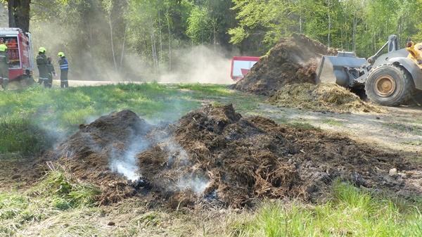 Brandeinsatz am Forst