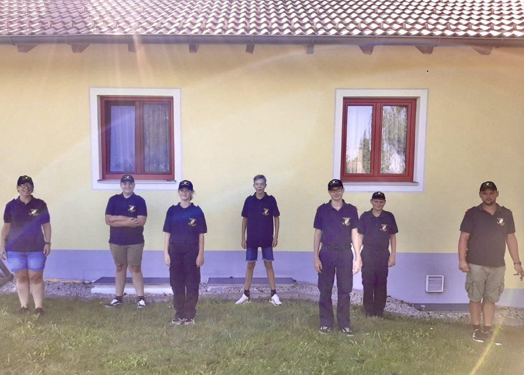 Unsere Feuerwehrjugend mit Ihren Betreuern