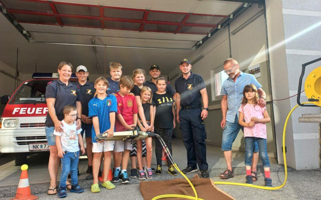 Ferienspiel der Feuerwehrjugend