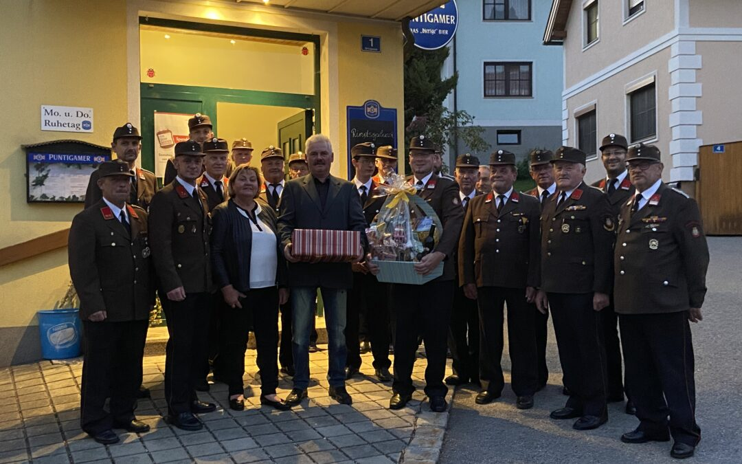 LM Franz Leeb lud zum 60. Geburtstag